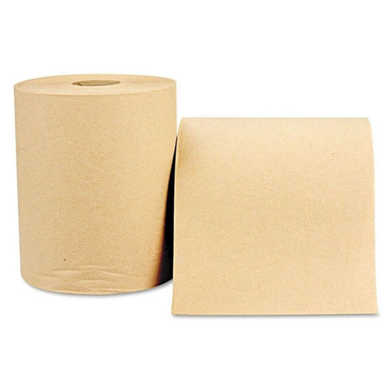 Windsoft Nonperforated Roll Towel, 8 x 600'