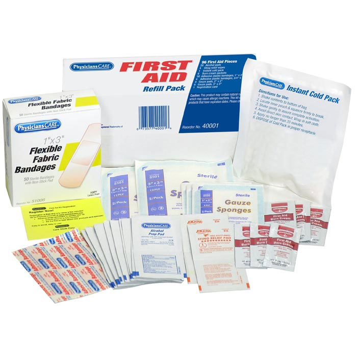 Acme United First Aid Kit Refill Pack