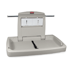 Rubbermaid Commercial Sturdy Station 2™ Changing Table RCP7818WHI