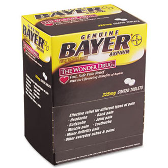 Acme United Bayer Aspirin