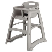 Sturdy Chair Youth Seat, Plastic - Platinum RCP7806-08PLA