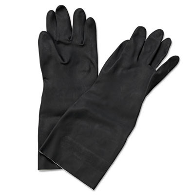 Galaxy Neoprene Flock-Lined Latex Gloves - Medium GLX543M