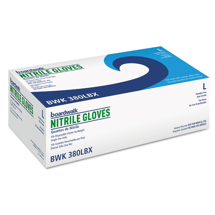 Galaxy Nitrile-General Purpose Gloves - Large
