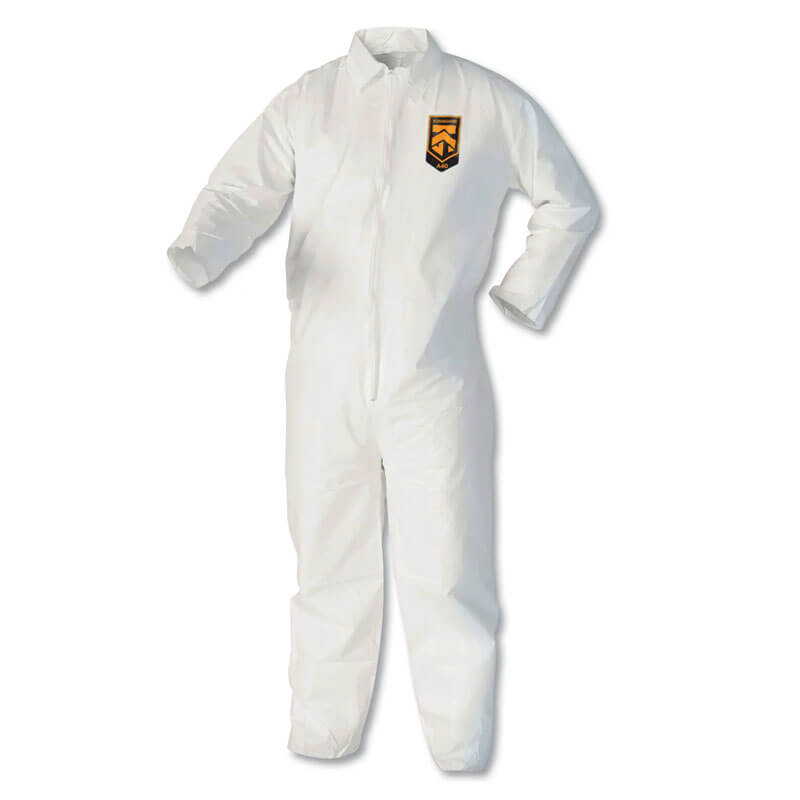 Kleenguard XP Coveralls - Zipper Front - Large