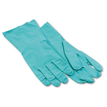 Galaxy Nitrile Flock-Lined Gloves - Large