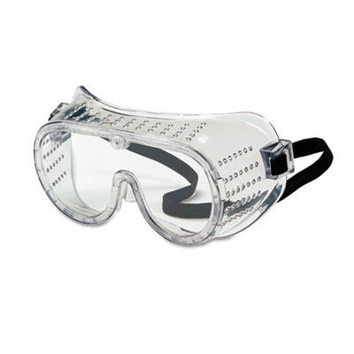 Safety Goggles, Over Glasses, Clear Lens MCR2220