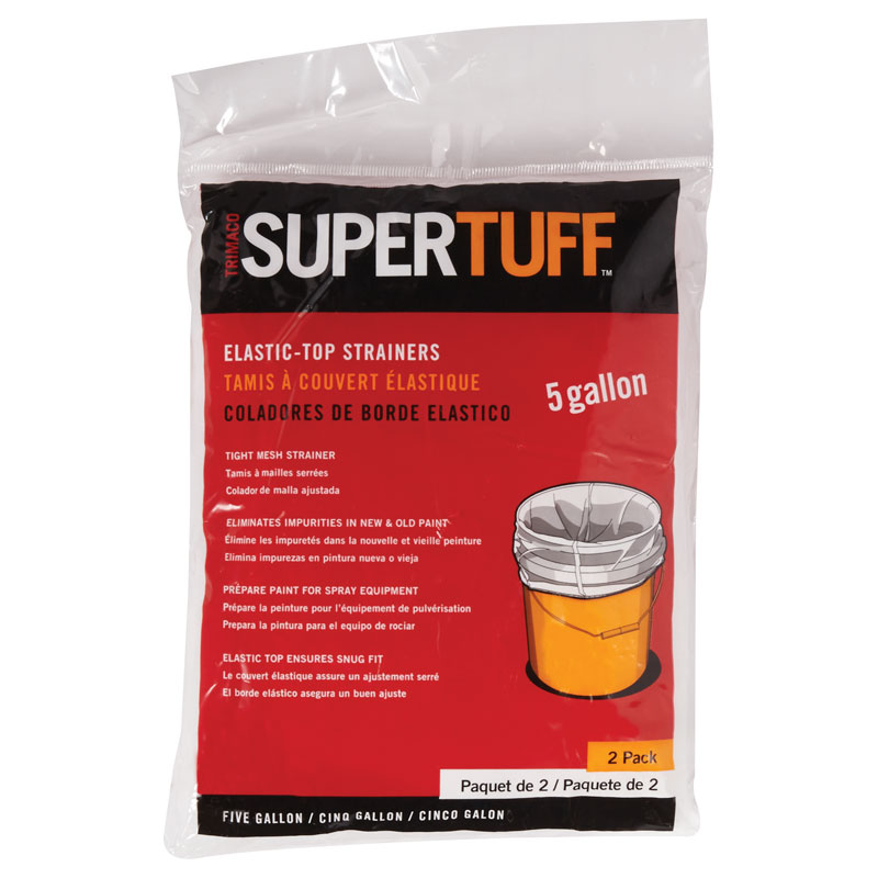 SuperTuff Elastic Paint Strainer - 5 Gallon