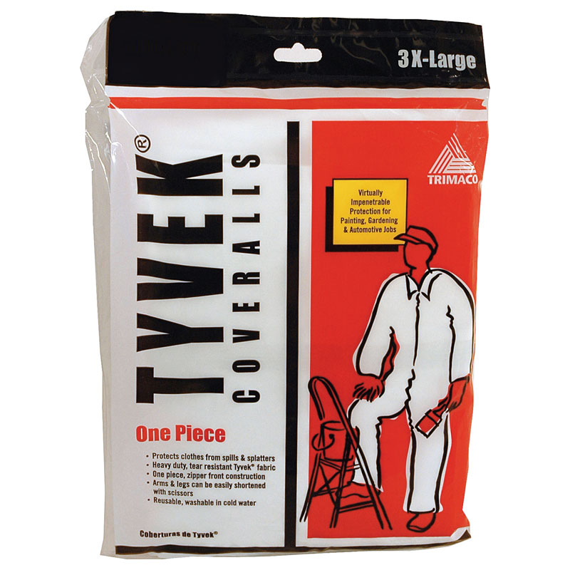 Tyvek Painter's Coveralls - 3X Large