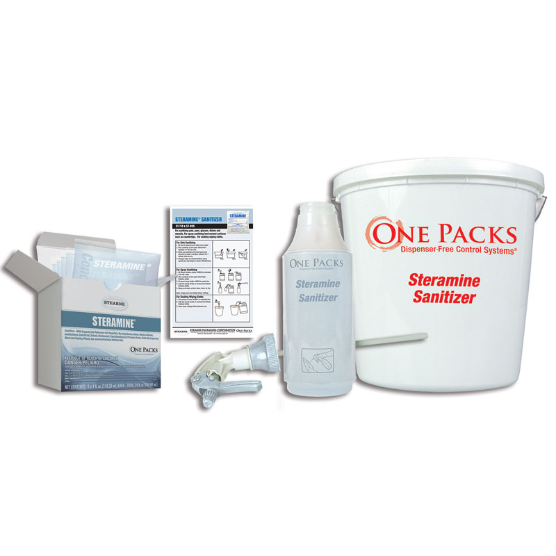 Stearns Steramine Sanitizing Kit - 96 Gallons