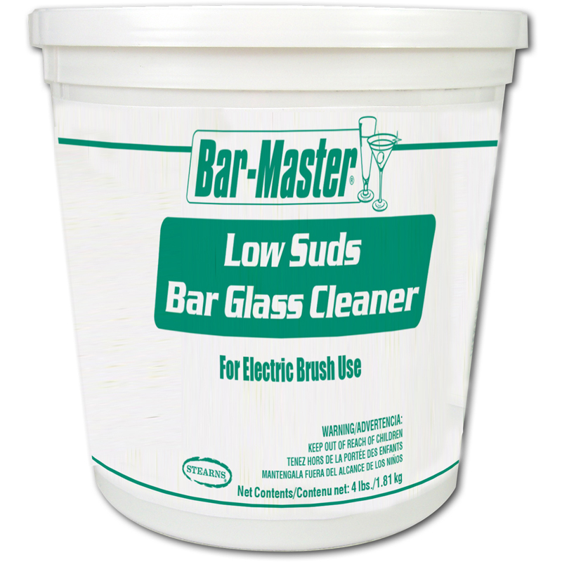 Stearns Bar Master Low Suds Glass Cleaner - (2) 4 lbs.