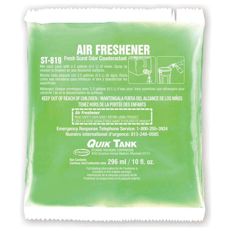 Stearns Quik Tank Air Freshener - (10) 10 fl. oz. Packets