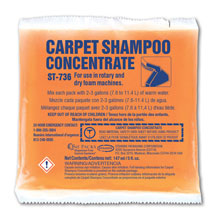 Stearns One Packs High-Foam Carpet Shampoo Concentrate - (36) 5 fl. oz. Packets