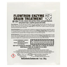 Stearns One Packs Flowtron Enzyme Drain Treatment - (72) 1 wt. oz. Packets