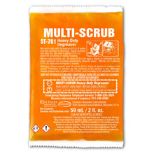 One Packs MULTI-SCRUB Heavy-Duty Degreaser - (72) 2 fl. oz. Packets