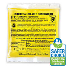 Stearns One Packs 847 GS Neutral Cleaner Concentrate