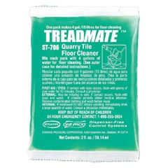 Stearns One Packs™ ST-706 TREADMATE™ Quarry Tile Floor Cleaner - (60) 2 fl. oz. Packets