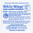 Stearns One Packs White Wings Ultra Laundry Detergent - (150) 1.5 wt. oz. Packets