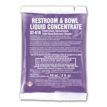 Stearns One Packs Restroom & Bowl Cleaner Liquid Concentrate - (72) 2 fl. oz. Packets