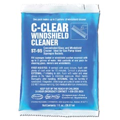 Stearns One Packs C-Clear Windshield Cleaner - (144) 1 fl. oz. Packets