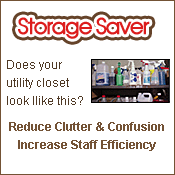 Increase Storage Space & Organization with Pre-Measured Cleaning Concentrates