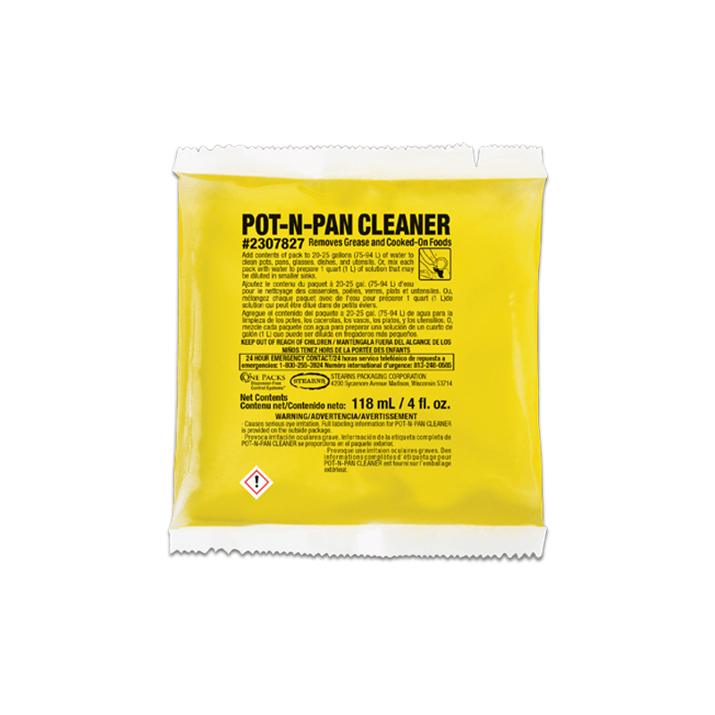 Stearns One Packs Pot 'N' Pan Cleaner - (36) 4 fl. oz. Packets