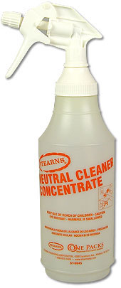 Stearns ST-9945 Neutral Cleaner Concentrate 32 oz. Trigger Spray Bottle