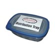 Stearns ST-267 Distribution Tray w/ Removeable Lid - (6) 2.3 Quart Trays