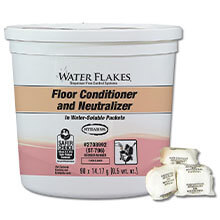 Stearns Water Flakes Floor Conditioner & Neutralizer - (2) 90 x 0.5 wt. oz. Pails