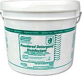 Stearns Water Flakes Powdered Detergent/Disinfectant - (1) 400 x 0.5 wt. oz. Tub