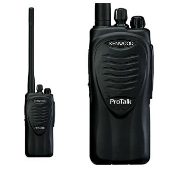 Kenwood [TK-3200LU2P] ProTalk® Compact UHF FM Portable Two-Way Radio - 2 Watt - 2 Channel