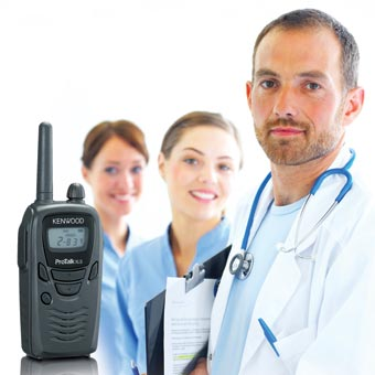 Kenwood [TK-3230] ProTalk® Ultra Compact UHF FM Portable Two-Way Radio - 1.5 Watts - 2 Channel
