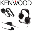 Kenwood ProTalk® Two-Way Radio Earphones, Clip-On Mics, Headsets, Boom Mics & Speaker Microphones - On-Site & Job Site Radio Communicators