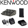 Kenwood ProTalk® Two-Way Radio Replacement NiCad & NiMH Batteries, Standard & Rapid Rate Charger Stations - On-Site & Job Site Radio Communicators