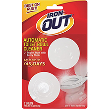 Iron Out Automatic Toilet Bowl Cleaner - 2 Pack 446976