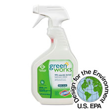 Green Works Bathroom Cleaner, 24 oz. Spray Bottle