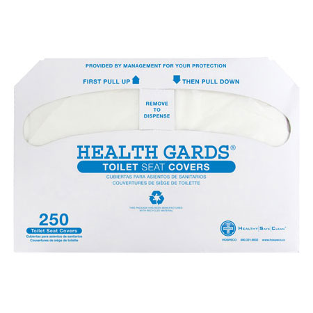 Health Gards Half-Fold Toilet Seat Covers
