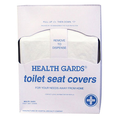 Health Gards Toilet Seat Covers, Quarter-Fold