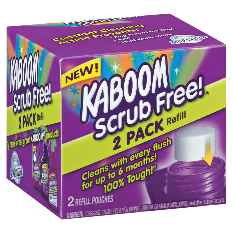 Kaboom Toilet Bowl Cleaner Refill - 2 pack