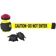 30 ft. Magnetic Caution Do Not Enter Wall Mounted Barrier