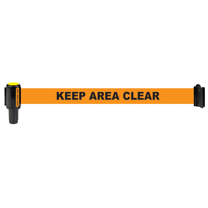 Banner Stakes Barrier System Orange Banner Head