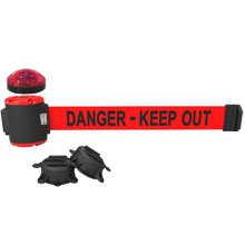 Banner Stakes MH5009L Danger - Keep Out Magnetic Barrier System
