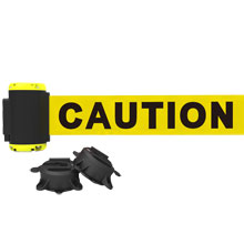 7' Caution Magnetic Wall Mount Banner