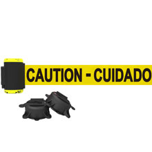 7' Caution - Cuidado Magnetic Wall Mount Banner