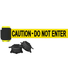 7' Caution - Do Not Enter Magnetic Wall Mount Banner