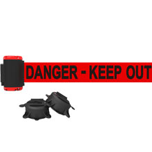 Danger - Keep Out Magnetic Wall Mount Banner 7 ft.