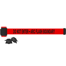 Do Not Enter - Arc Flash Boundary Magnetic Banner
