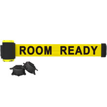 Room Ready Banner, Yellow - 7' Magnetic Wall Mount BST-MH7011
