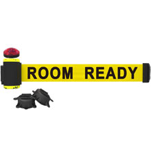 Room Ready Banner, Yellow - 7' Magnetic Wall Mount w/ Light Kit BST-MH7011L
