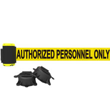 7' Authorized Personnel Magnetic Wall Mount Banner
