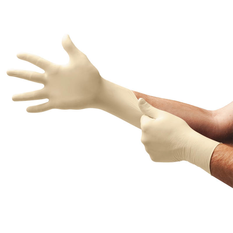 Conform XT Disposable Latex Gloves - 5 Mil - Medium